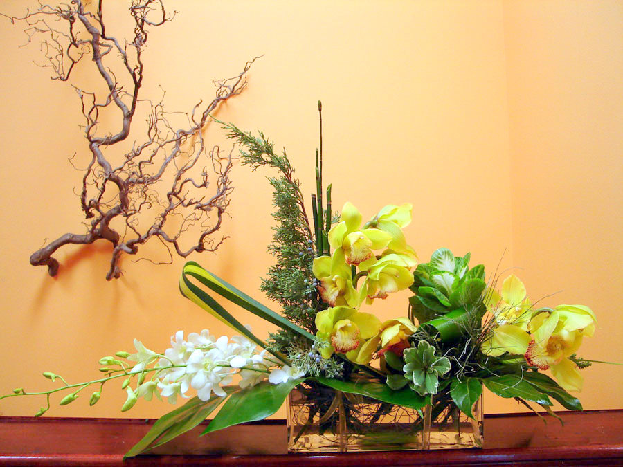 Beautiful ottawa flowers brought to Christmas orchid arrangements